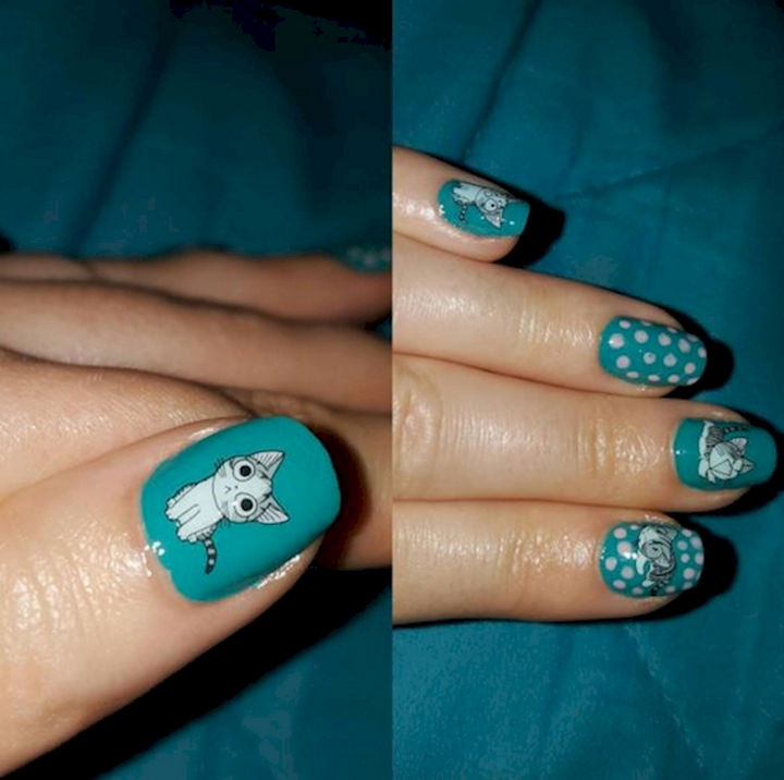 15 Cat Nail Art Designs for the Kitty Lover That You Are