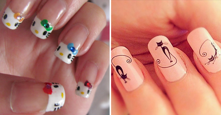 15 Cat Nail Art Designs for the Kitty Lover That You Are.