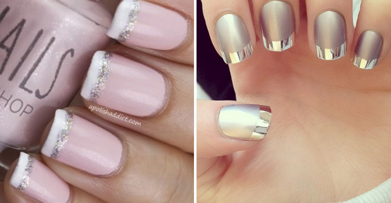17 French Manicures That Provide a Twist on this Classic Look.