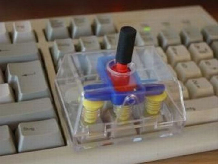 17 Clever Inventions - Keyboard joystick adapter.