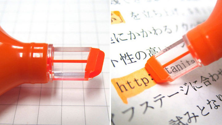 17 Clever Inventions - See-through highlighters.
