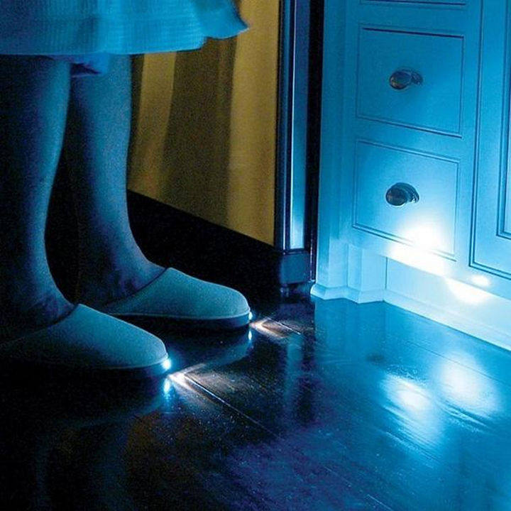 17 Clever Inventions - LED slippers.