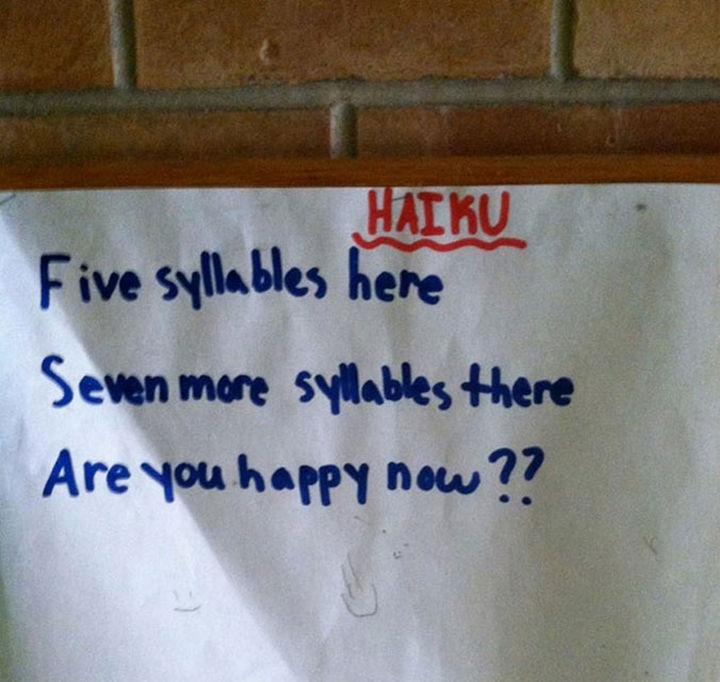 "18 Funny Test Answers - ""Here's my answer, are you happy now??"""