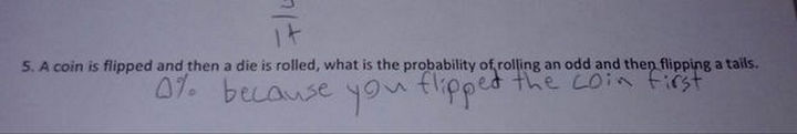 18 Funny Test Answers - Clever, very clever.