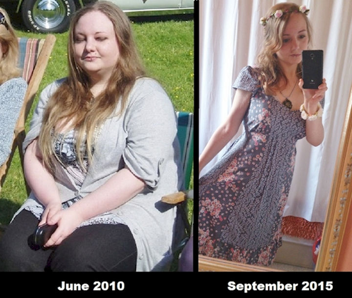 18 Before and After Weight Loss Photos - Reddit user Wilmolwin has lost so much weight that she feels great and looks younger too. Proof that focusing on your goals achieves results!