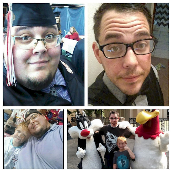 18 Before and After Weight Loss Photos - Reddit user JeffreyGlen lost an incredible 410 pounds and went from 585 to 175 lbs and looks happier than ever. An incredible transformation to say the least!
