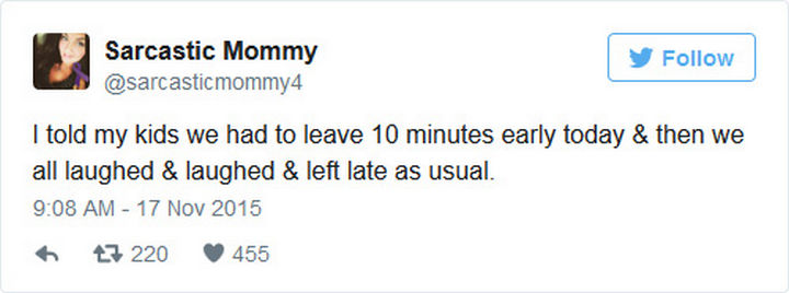 35 Funny Parenting Tweets - At least it was worth a try.