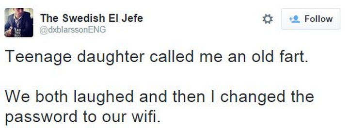 35 Funny Parenting Tweets - It doesn't get easier when they turn into teenagers.