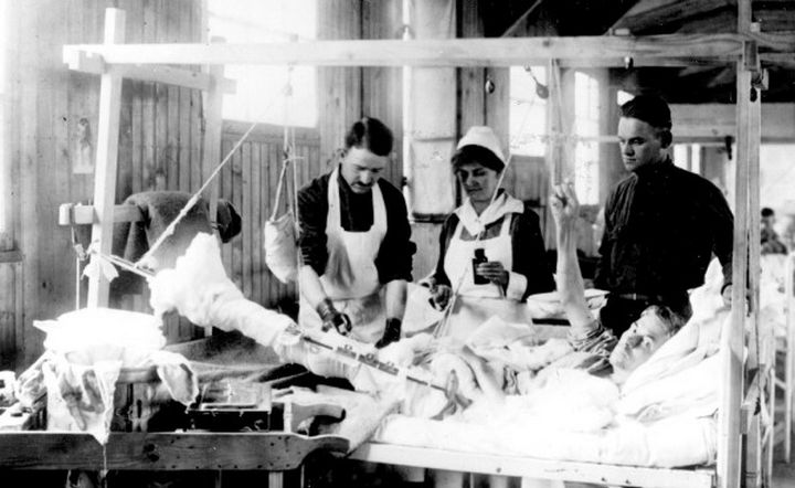 9 Nursing Rules in 1887 - Maintain an even temperature in your ward by bringing in a scuttle of coal for the day's business.