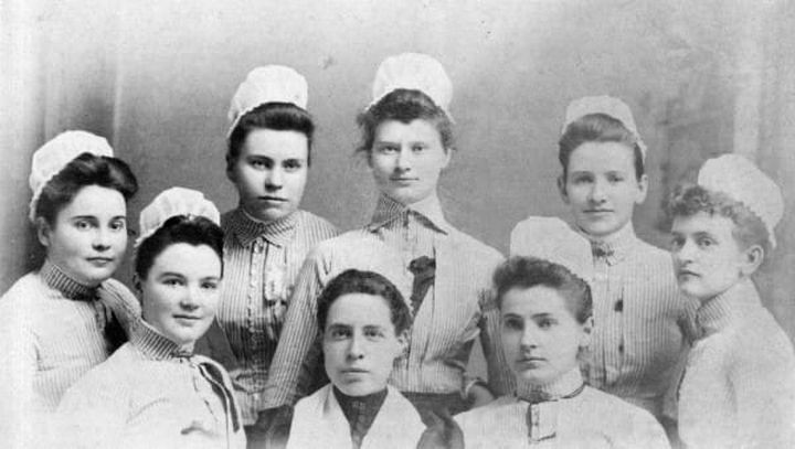 9 Nursing Rules in 1887 - Graduate nurses in good standing with the director of nurses will be given an evening off each week for courting purposes, or two evenings a week if you go regularly to church.
