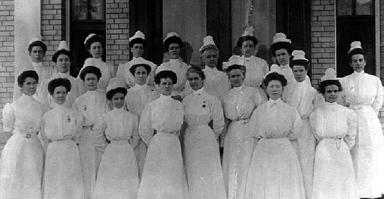 If You Wanted to Be a Nurse in 1887, You Had to Follow These 9 Rules. Wow, #8 Sounds Brutal!