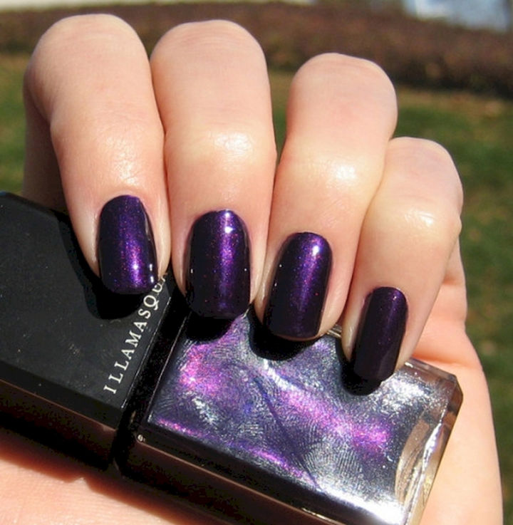 Nail Color Violet The Best Inspiration For Design And Color Of The