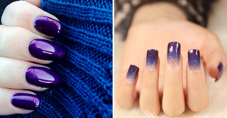 22 purple nail designs that are stunning and will get you noticed