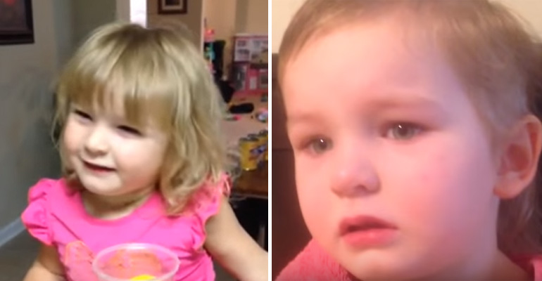 3-Year-Old Girl Named Ansleigh Cuts Her Own Hair and Her Reason Is Adorable.