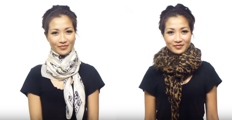 How to Tie a Scarf 25 Different Ways and Wear a New Style Every Time.