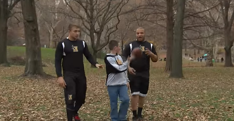 A 5th Grader Was Being Bullied at School. What These Football Players Did for Him Will Inspire You.