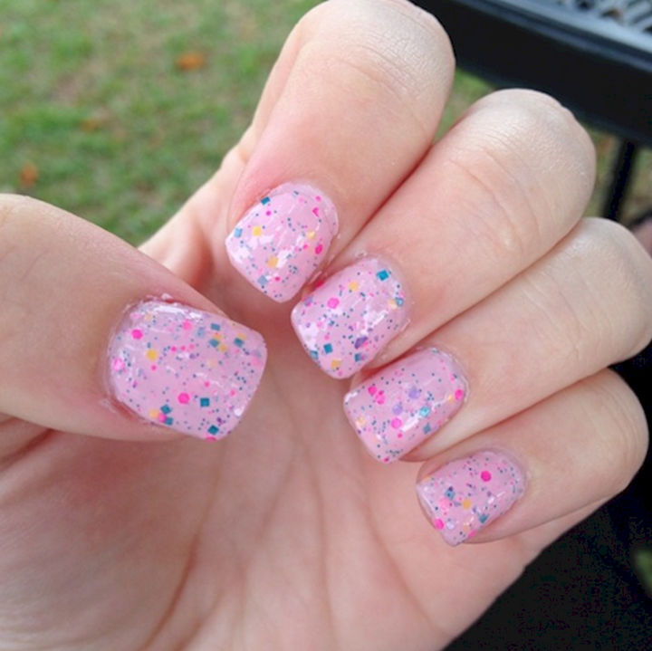 17 Cotton Candy Nails - Yummy cotton candy nails. - 17 Cotton Candy Nails And Manicures That Look So Sweet