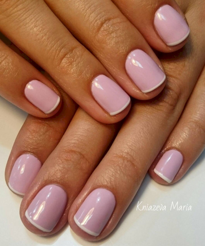 17 Rose Pink Manicures For A Clean And Timeless Look
