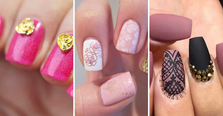 17 Rose Pink Manicures for a Clean and Timeless Look. So Pretty, You'll Want to Try Them All!