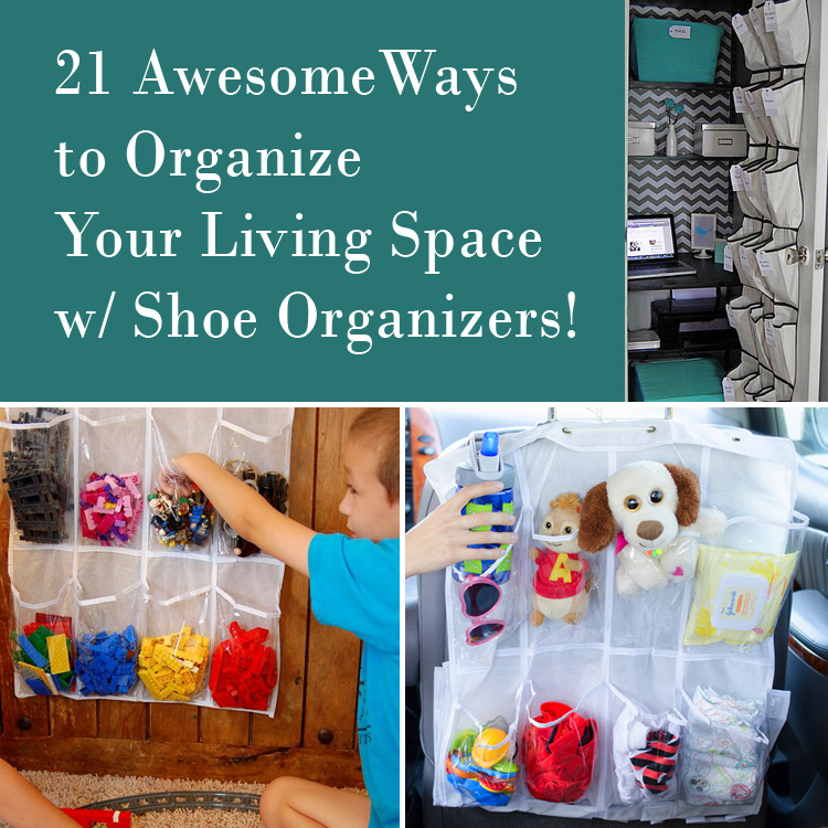 21 Clever Ways to Use a Shoe Caddy to Organize Things Around Your Home