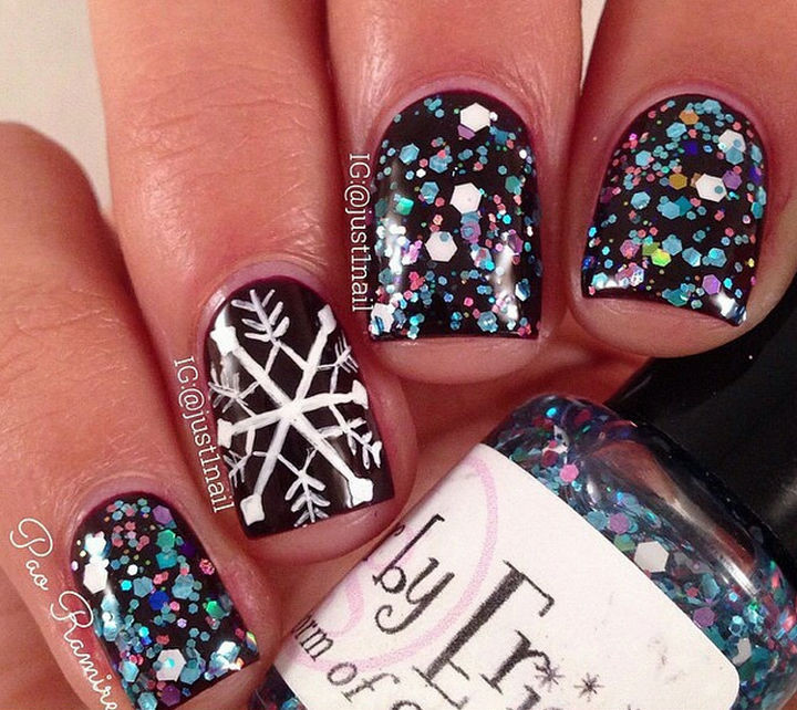 39 Winter Nails - Winter storm warning: epic winter nails!