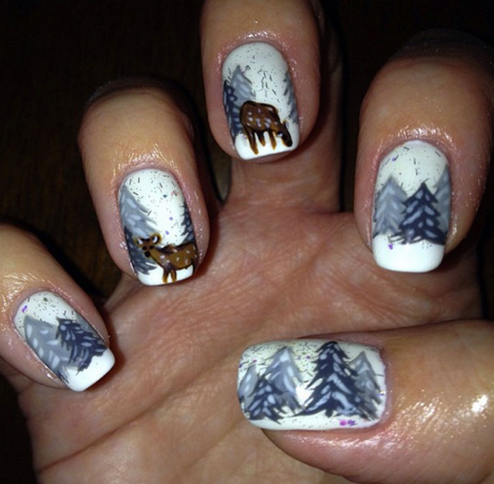39 Winter Nails - Winter wonderland.