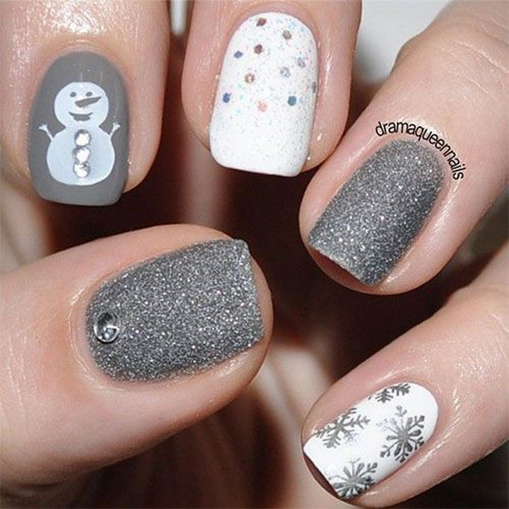39 Winter Nails - Stay frosty!