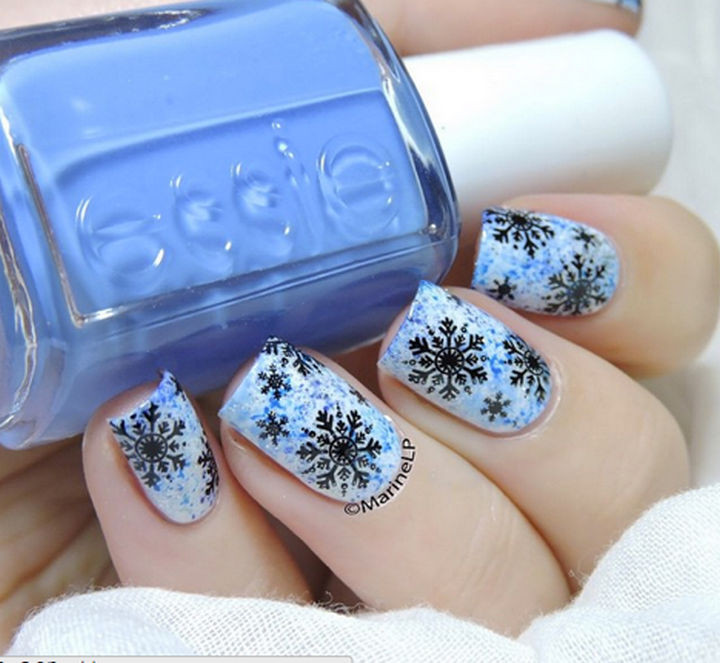 39 Winter Nails - Winter mani.