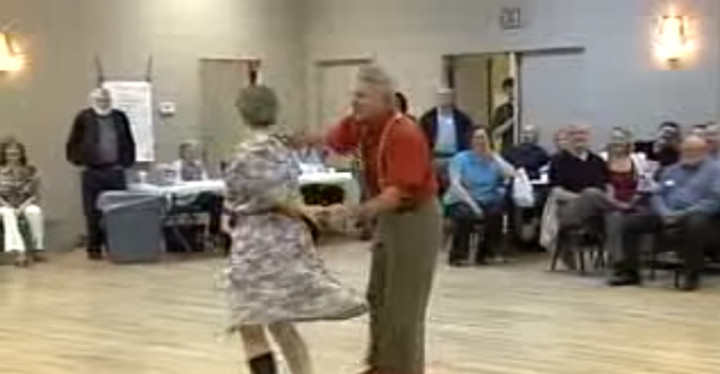 Pete & Beulah Mae Swing Dancing and Performing an Hilarious Comedy Dance.