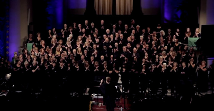 Toto's Africa performed by Angel City Chorale is Unbelievable.