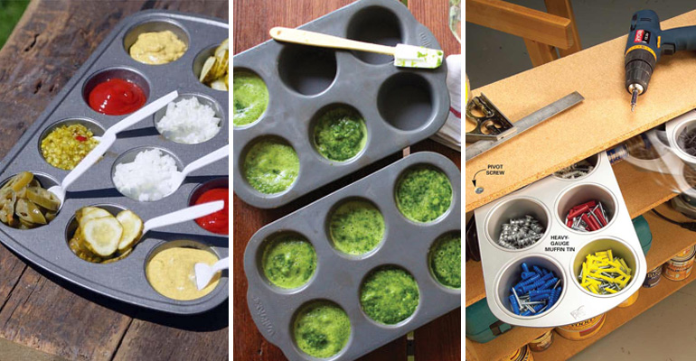 13+ Muffin Tin Hacks.