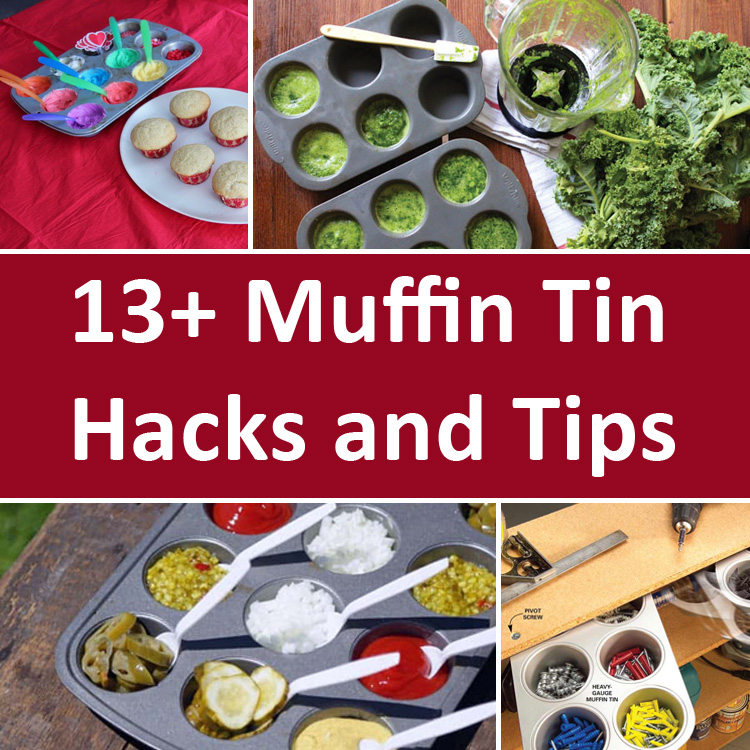 13+ Muffin Tin Hacks. They Aren't Only for Making Muffins!.