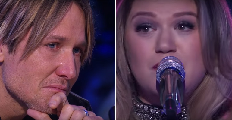 Kelly Clarkson Sings Piece by Piece, an Emotional Performance..