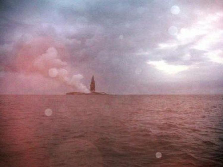 Sailing Crew Witness Underwater Volcano Erupting 14