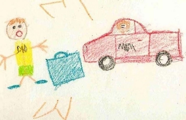 35 Funny Drawings from Kids - I think mom and dad may need marriage counselling.