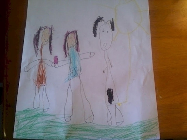 35 Funny Drawings from Kids - I don't want to know what is going on here...
