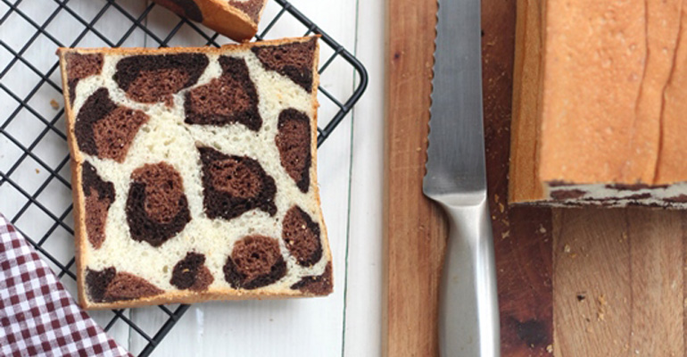 Leopard Bread Recipe Creates Unique Loaves with Leopard Prints.