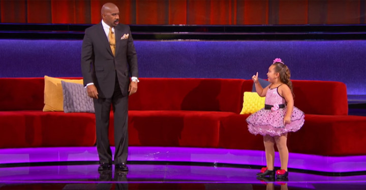 Super Sassy Johanna Performs Respect on Little Big Shots.