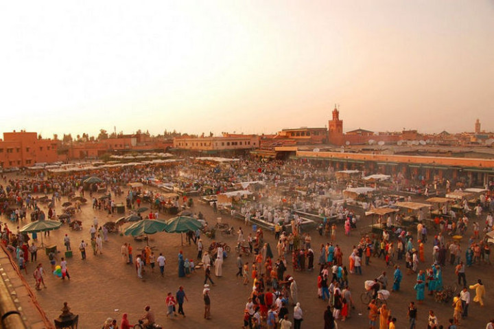 Top 25 Travel Destinations 2016 - Marrakech, Morocco.