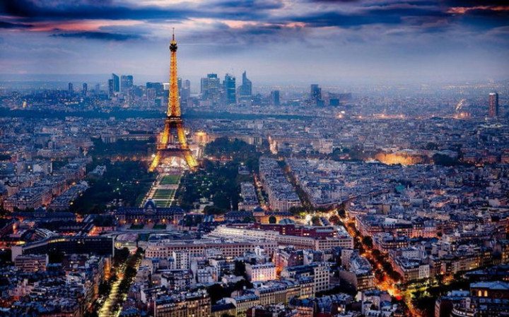 Top 25 Travel Destinations 2016 - Paris, France.