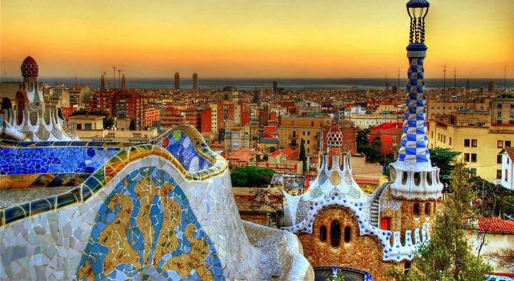 Top 25 Travel Destinations 2016 - Barcelona, Spain.