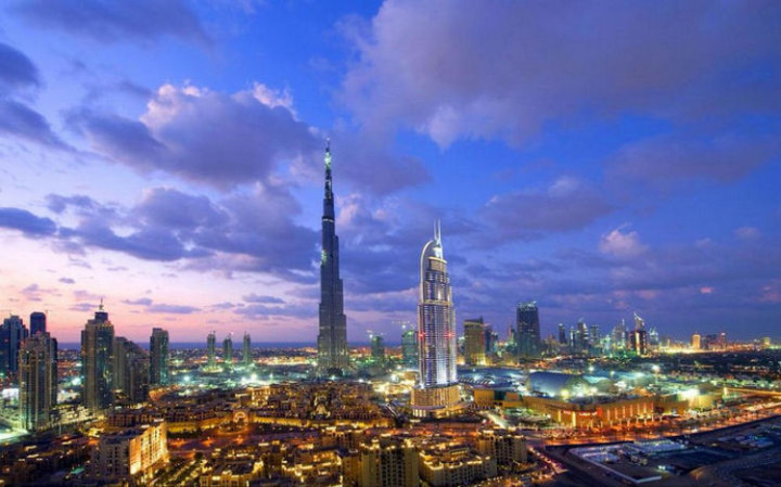 Top 25 Travel Destinations 2016 - Dubai, United Arab Emirates.