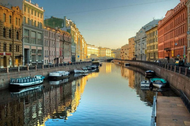 Top 25 Travel Destinations 2016 - St. Petersburg, Russia.