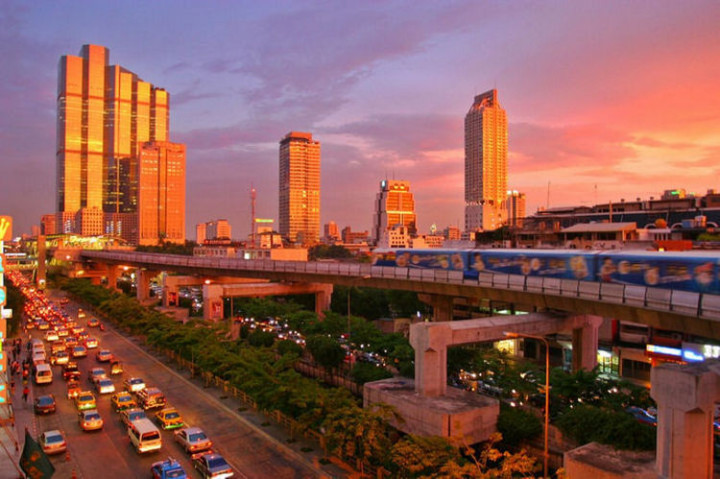 Top 25 Travel Destinations 2016 - Bangkok, Thailand.