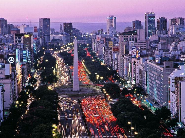 Top 25 Travel Destinations 2016 - Buenos Aires, Argentina.