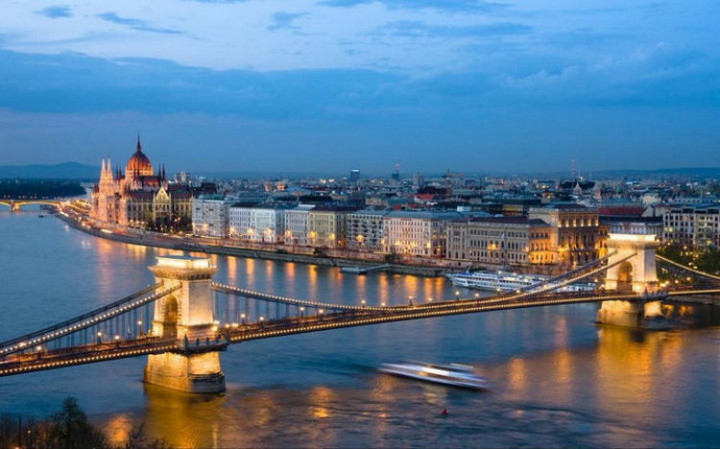 Top 25 Travel Destinations 2016 - Budapest, Hungary.