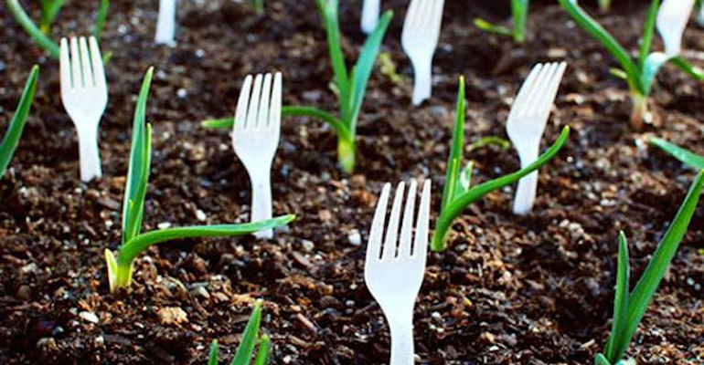 This Gardener Put Forks in His Garden and the Reason Why Is Totally Genius!