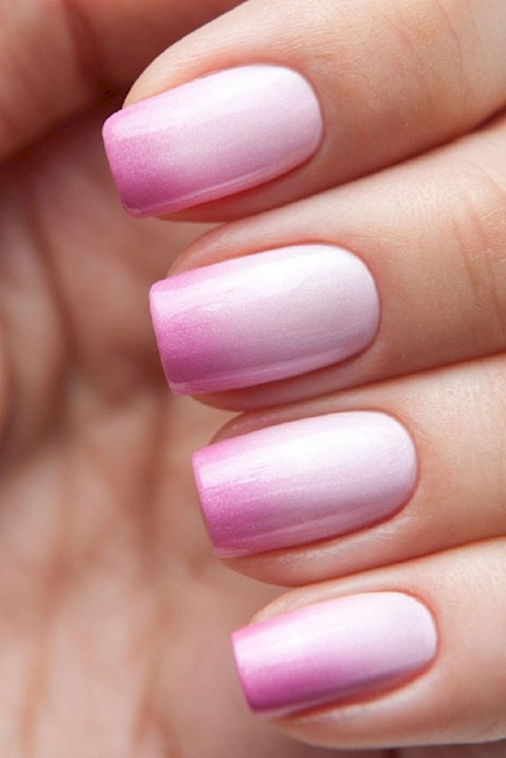 18 Perfect Wedding Nails - Lookin' pretty in pink.