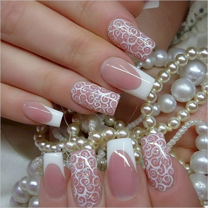 18 Perfect Wedding Nails - Wedding nail art with class.