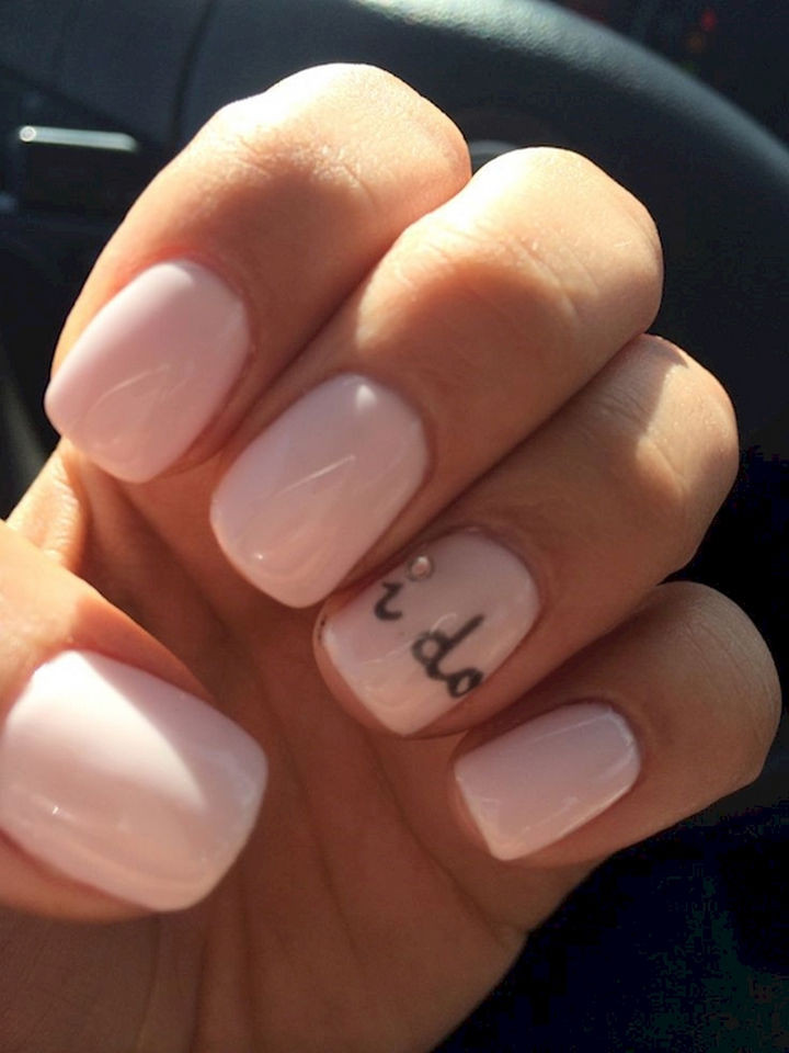 18 Perfect Wedding Nails - I do...